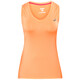 asics Tank Top - T-shirt course à pied Femme - orange